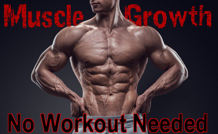 Very defined muscular man for Muscle Growth No Workout Needed hypnosis file