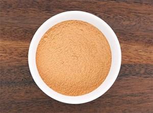 Bowl of powdered maca root